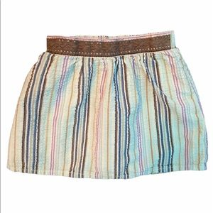 ✨3 for $30✨Baby Girls Striped Skirt size 6-12M